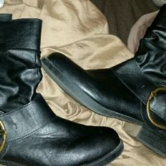 Madden Girl boots Great used condition. Size 6.5  Black Smoke free / Pet free home Madden Girl Shoes Ankle Boots & Booties