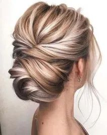Stylish Knotted Blonde Updo beauty wedding 12 Most Elegant And Beautiful Wedding Hairstyles Wedding Hairstyles For Women, Wedding Hairstyles Half Up Half Down, Short Hair Bridesmaid Hairstyles, Wedding Hair Blonde, Wedding Hairstyles For Short Hair, Updo For Long Hair, Hair Styles For Wedding, Wedding Up Do, Updos For Medium Length Hair