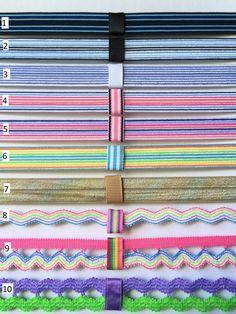 Striped Interchangeable Headband