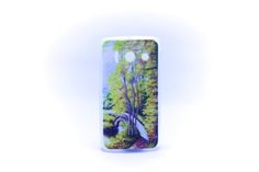 Carcaza Pintura Puente Bosque Relieve Huawei Y300 — HighTeck Store