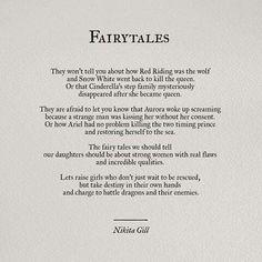 Feminist re-telling of Fairy Tales.