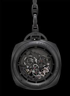 $215,000 Panerai Ceramic Tourbillon GMT Pocket Watch