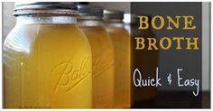 How to Make a Basic Bone Broth Recipe Healthy Diet 24