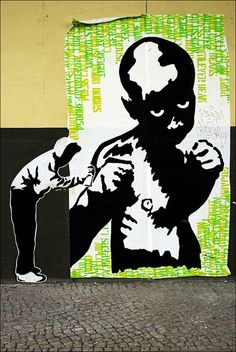 Streetart Berlin - SERVUS089 by URBAN ARTefakte, via Flickr
