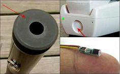 10 Gadget Unik yang dapat Digunakan sebagai Pengintai