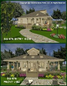 Affordable Small House Plans | Small Home Floor Plans