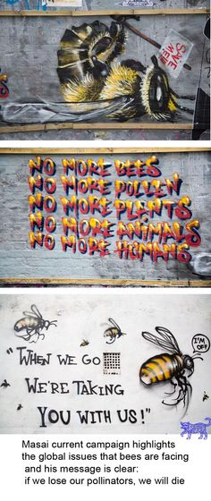 Louis MASAI - Save the bees!