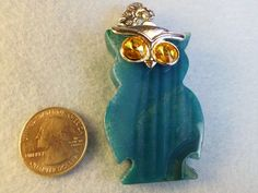 sweet owl pendant up for auction. Come check it out here:  http://tophatter.com/auctions/15983?campaign=all=internal  @Tophatter