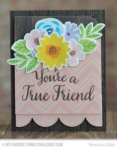 Modern Blooms, True Friends, Wood Plank Background, Blueprints 14 Die-namics, Blueprints 22 Die-namics, Modern Blooms Die-namics, Stitched Basic Edges Die-namics - Veronica Zalis  #mftstamps
