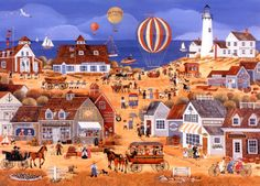 A Day at the Beach ~ Carol Dyer