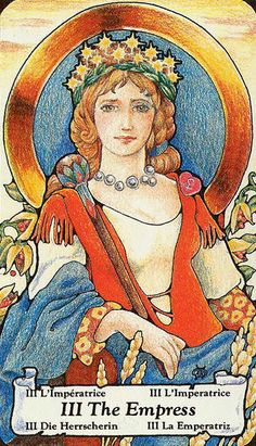 III. The Empress - Hanson-Roberts Tarot by Mary Hanson-Roberts