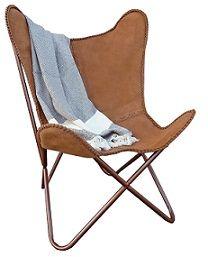 FUJL Butterfly Chair   Vlinderstoel   Leder   Cognac | Als Ik Later Groot  Ben | Pinterest | Butterfly Chair
