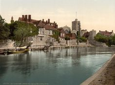 Kent, Maidstone, Church Palace and College