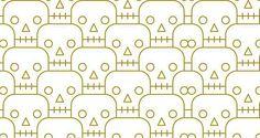 Skull Pattern | Pattern Download | The Design Inspiration