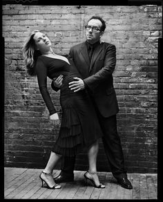 Elvis Costello and Diana Krall © Mark Seliger