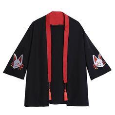 Fox Embroidery Kimono SE20275 – SANRENSE