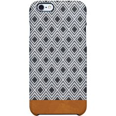 Uncommon Moroccan Geometry iPhone 6 TS Deflector Case ($29) ❤ liked on Polyvore featuring accessories, tech accessories and multi