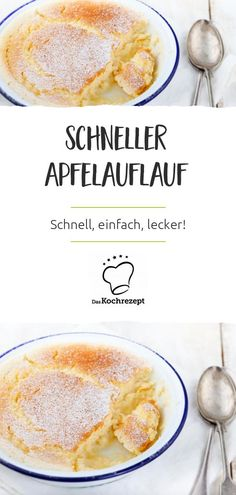 Quick apple casserole-Schneller Apfelauflauf Looking for a sweet, fruity dessert that is quickly on the table? This apple casserole is prepared in no time and smells so wonderful that it is just as quickly plastered – bet ? Mexican Breakfast Recipes, Mexican Food Recipes, Dinner Recipes, Casserole Recipes, Cake Recipes, Kids Meals, Easy Meals, Breakfast Desayunos, Cooking Recipes