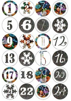 Glitter Advent Calendar: DIY and Printable inside Advent Calendar Activities, Advent Calenders, Diy Advent Calendar, Christmas Activities, Christmas Printables, Calendar Printable, Christmas Countdown, Christmas Calendar, Christmas Love