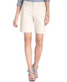 TOMMY HILFIGER Tommy Hilfiger Hollywood Bermuda Shorts, Only At Macy'S. #tommyhilfiger #cloth # shorts