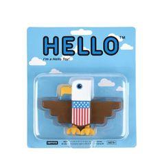 """H5 x ARTOYZ - Hello Toy """"Uncle Sam"""" - colette"""
