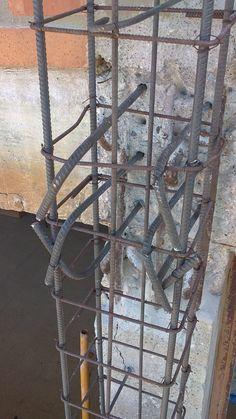 Estructuras - Ferrallado pilares contrafuertes