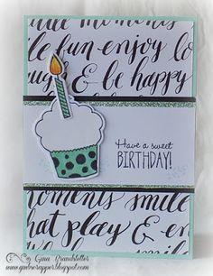 Gina's Little Corner of StampinHeaven: Sweet Birthday