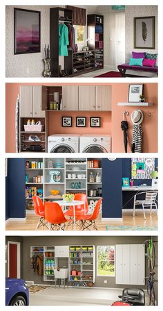 This versatile storage solution can organize any space in your home. NeuSpace is totally customizable and fit perfectly into your closet, kitchen, pantry, laundry room, garage or entryway. Click through to the online design tool to see how easy it is to create a unique storage solution for your home.