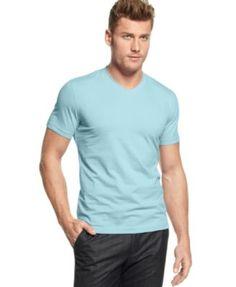c5c291fb134 Alfani Men s Stretch Slim Fit V-Neck T-Shirt