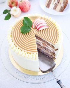 Fika, Food Cakes, No Bake Cake, Amazing Cakes, Frosting, Tart, Panna Cotta, Cake Recipes, Cake Decorating
