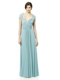 Convertible Dress: The TWIST Wrap Dress, Long: The Dessy Groupdessy wrap dress long