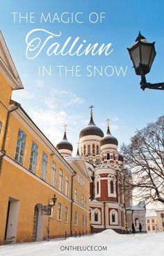 The magic of Tallinn, Estonia, in the snow – On the Luce travel blog