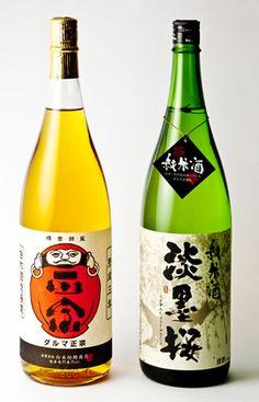 淡墨桜(うすずみざくら) 純米酒 720ml と 達磨正宗 熟成三年 720ml のセット
