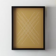 between the lines.  Woven Metallic Print weaves a three-dimensional effect on metallic paper in an original screenprint by Yield Design Co.  A delicate balance of intricate detail, rich materials and bold simplicity, the original design began with cut paper and digital linework, replicated with precision in a hand-screenprinting process.