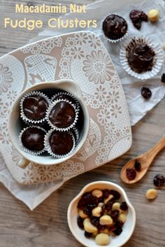 Gluten Free Recipes Galore {Plus, tips for starting on a journey}. Recipes include Macadamia Nut Fudge Clusters by Strauss (Kitchen Tested) . Paleo Sweets, Paleo Dessert, Healthy Desserts, Delicious Desserts, Paleo Food, Passover Recipes, Jewish Recipes, Passover Desserts, Sweet Recipes