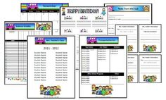 groovy themed classroom   Classroom Forms and Substitute Information - Groovy Peace themed - Mrs ...