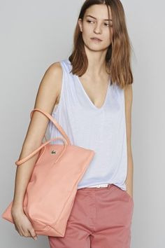b9910c1ab84e3  Lacoste Sleeveless  Tshirt Top Luxury Brands, Spring Trends, Luxury  Fashion, Fashion