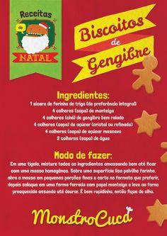 Os biscoitos de gengibre são muito tradicionais e consumidos no mundo todo nessa época de natal, e o melhor de tudo, são deliciosos e bem fáceis de fazer. Prove!