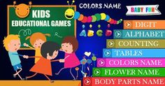 #kids #kidseducationalgame #gameforkids #toddlergamd #EducationalGame #parenting #kidseducation #Toddler #children #Learningforkids #Education #learning #Teaching Learning Games For Kids, Educational Games For Kids, Learning The Alphabet, Games To Play, Fruit Names, Cursive Alphabet, Flower Names, Small Letters, Creative Kids