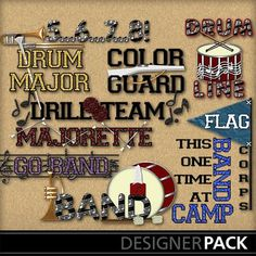 Marching Band Word Art http://www.mymemories.com/store/display_product_page?id=MGMB-EP-1202-11699