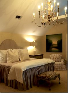 Beautiful guest room!
