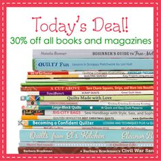 First up in the Countdown to Christmas, 30% off all books and magazines!  Ends 12/13/13