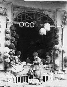 Dmitri Ivanovich Yermakov (Russian: Дмитрий Иванович Ермаков) (1846 – November 10, 1916): Georgia, Tbilisi c 1870 Hat Shop