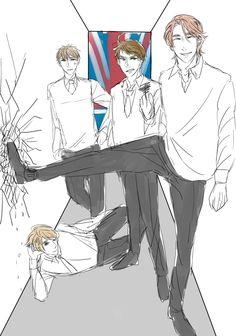 I like my guys like I like my tea, HOT AF<< possibly one of my favorite drawings of them
