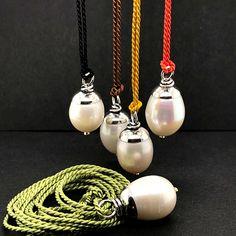 Pearl Earrings, Jewellery, Pearls, Handmade, Pearl Studs, Jewels, Hand Made, Schmuck, Beads