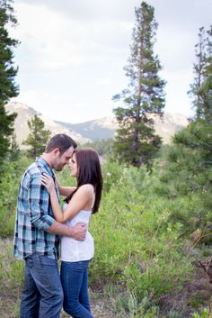 Plum Pretty Photography | Colorado Engagement Photos | Colorado Wedding Photography | Allenspark Engagement Photos | St. Malo Church