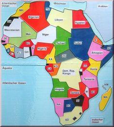Afrika, politisch < Materialien < ISaR Projekt