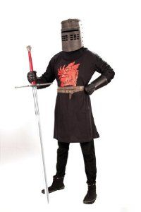 #Halloween : Monty Python and the Holy Grail Black Knight Mens Costume - Sizes S/M and L/XL #HalloweenCostume #2013