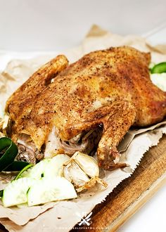 Chinese Five Spice Roast Duck recipe Roasted Duck Recipes, Meat Recipes, Slow Cooker Recipes, Asian Recipes, Gourmet Recipes, Chicken Recipes, Cooking Recipes, Asian Foods, Chinese Recipes