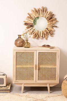 Ralik Wood Sideboard - SKLUM Glass Sideboard, Vintage Sideboard, Side Board, Tv Furniture, Living Room Furniture, Wooden Room Dividers, Madeira Natural, Wooden Cabinets, Fashion Room